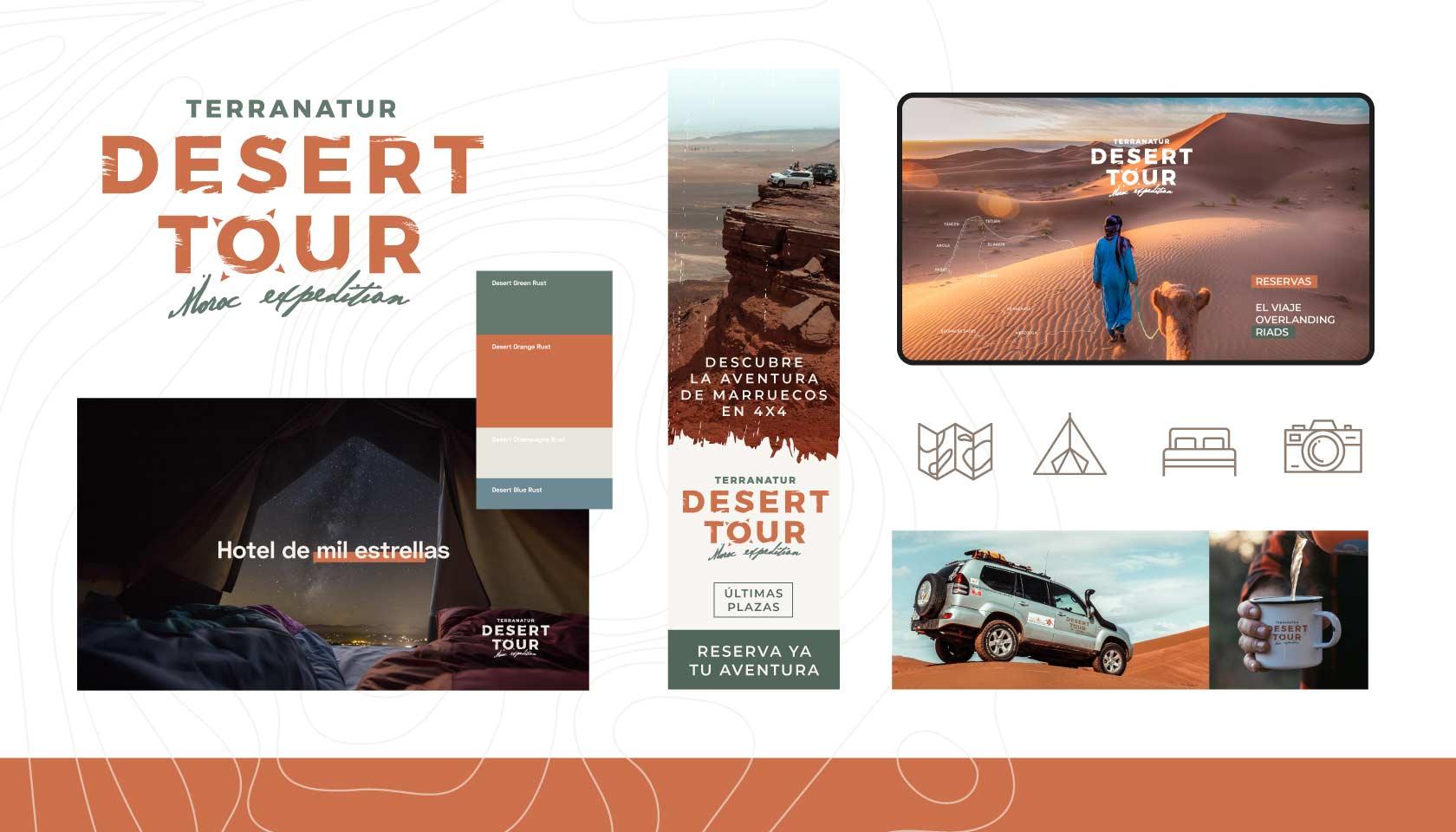 Branding Desert Tour