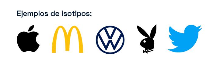 Ejemplos de isotipos
