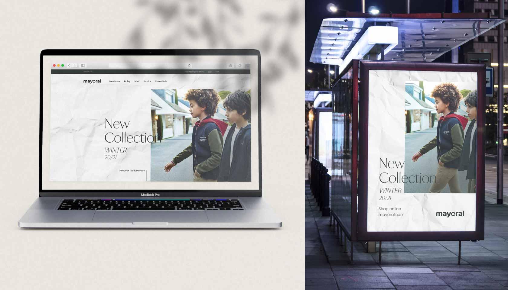 Campaña de publicidad Mayoral